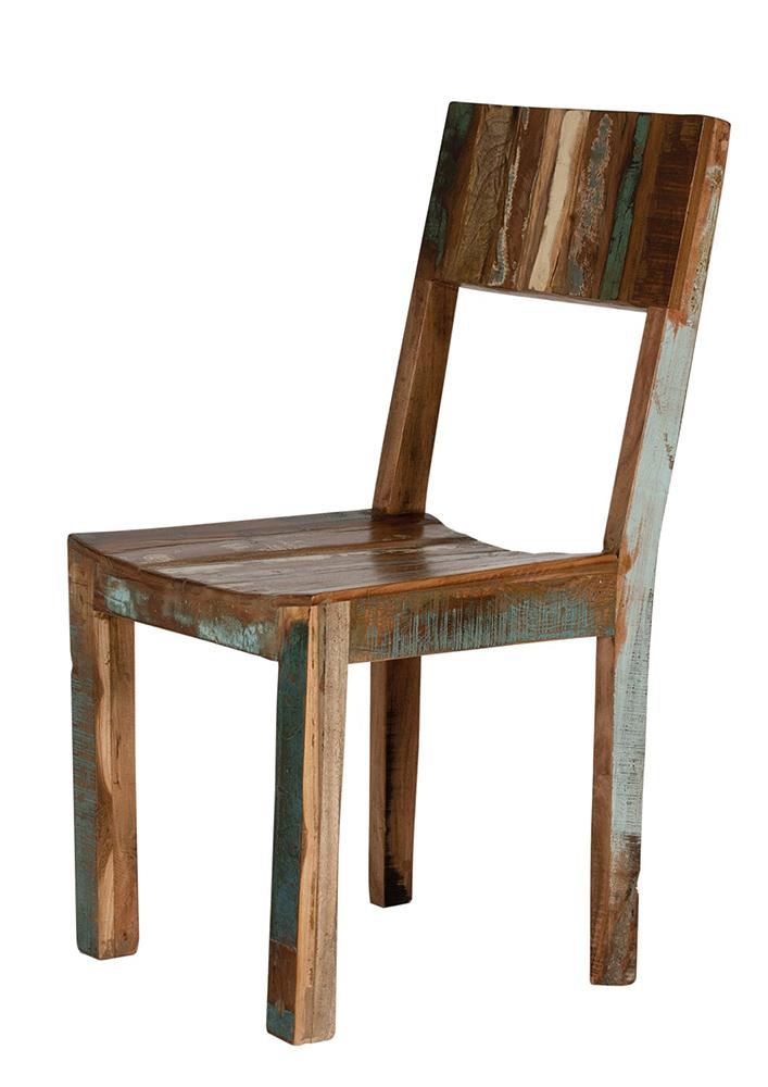 Vintage Stuhl recycelt