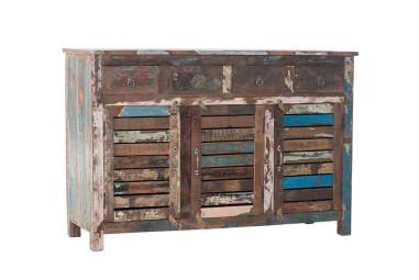 Vintage Sideboard mit Farbresten